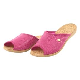 Befado obuwie damskie pu 254D092 różowe 3