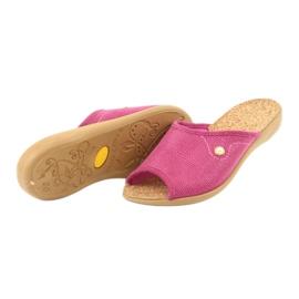 Befado obuwie damskie pu 254D092 różowe 4