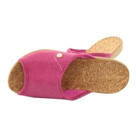 Befado obuwie damskie pu 254D092 różowe 5