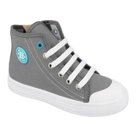 Befado obuwie dziecięce 438X014 szare 1