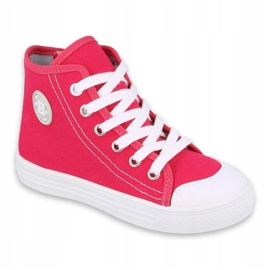 Befado obuwie dziecięce 438X012 różowe 1