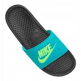 Klapki Nike Benassi Jdi Slide M 343880-032 niebieskie 3