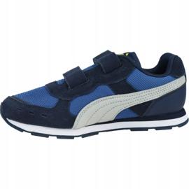 Buty Puma Vista V Ps Jr 369540 09 niebieskie 1