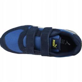 Buty Puma Vista V Ps Jr 369540 09 niebieskie 2