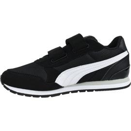 Buty Puma St Runner V2 Mesh Ps Jr 367136 06 czarne 1