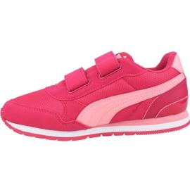 Buty Puma St Runner V2 Mesh Ps Jr 367136 08 różowe 1