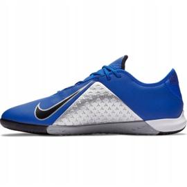 Buty piłkarskie Nike Phantom Vsn Academy Ic AO3225 400 niebieskie granatowe 1