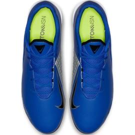 Buty piłkarskie Nike Phantom Vsn Academy Ic AO3225 400 niebieskie granatowe 2