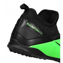 Buty piłkarskie Nike Phantom Vsn 2 Academy Df Tf Jr CD4078-306 zielone wielokolorowe 2