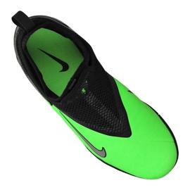 Buty piłkarskie Nike Phantom Vsn 2 Academy Df Tf Jr CD4078-306 zielone wielokolorowe 3
