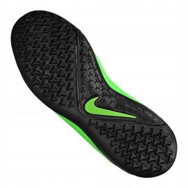 Buty piłkarskie Nike Phantom Vsn 2 Academy Df Tf Jr CD4078-306 zielone wielokolorowe 4