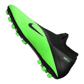 Buty piłkarskie Nike Phantom Vsn 2 Academy Df Ag M CD4155-306 zielone wielokolorowe 2