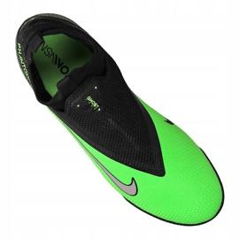 Buty piłkarskie Nike React Phantom Vsn 2 Pro Df Tf M CD4174-036 wielokolorowe zielone 3