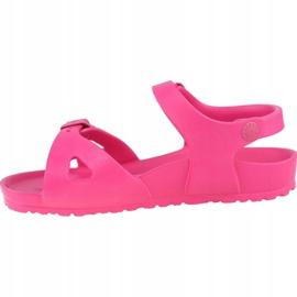Sandały Birkenstock Rio Eva Kids 1015463 różowe 1
