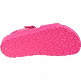 Sandały Birkenstock Rio Eva Kids 1015463 różowe 3