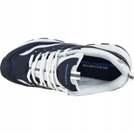 Buty Skechers I-Conik W 88888250-NVBL białe granatowe 2