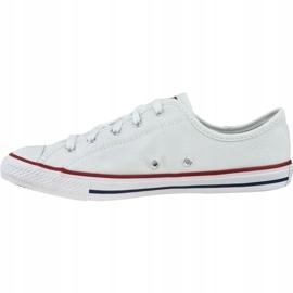 Buty Converse Ct All Star Dainty Ox W 564981C białe 1