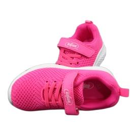 Befado obuwie dziecięce 516X044 różowe 6