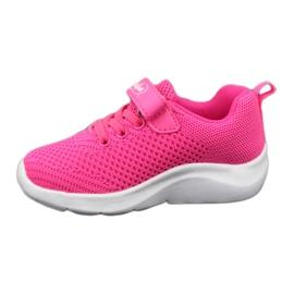 Befado obuwie dziecięce 516Y044 różowe 4
