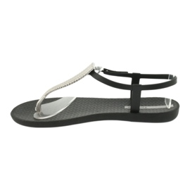 Sandałki japonki Ipanema 82862 czarne szare 1