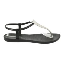 Sandałki japonki Ipanema 82862 czarne szare 2