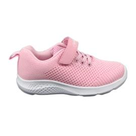 Befado obuwie dziecięce 516X045 różowe 1