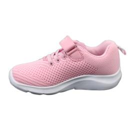 Befado obuwie dziecięce 516X045 różowe 3