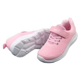 Befado obuwie dziecięce 516X045 różowe 5