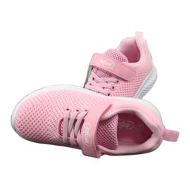 Befado obuwie dziecięce 516X045 różowe 6