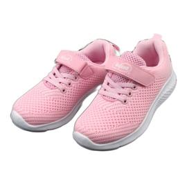 Befado obuwie dziecięce 516X045 różowe 4
