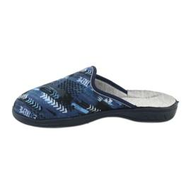 Befado kolorowe obuwie dziecięce  707Y402 czarne granatowe niebieskie 2