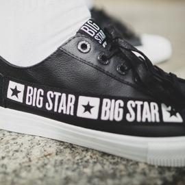 Trampki Męskie Big Star Czarne EE174069 2