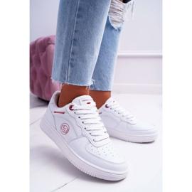 Trampki Damskie Cross Jeans Białe EE2R4143C 1