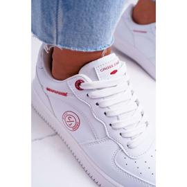 Trampki Damskie Cross Jeans Białe EE2R4143C 2