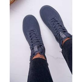 Sneakersy Damskie Trampki Szare Big Star EE274661 4