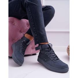 Sneakersy Damskie Trampki Szare Big Star EE274661 1