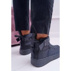 Sneakersy Damskie Trampki Szare Big Star EE274661 5