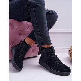 Sneakersy Damskie Trampki Czarne Big Star EE274662 1