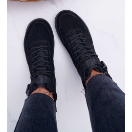 Sneakersy Damskie Trampki Czarne Big Star EE274662 5