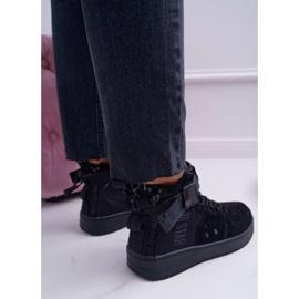 Sneakersy Damskie Trampki Czarne Big Star EE274662 3