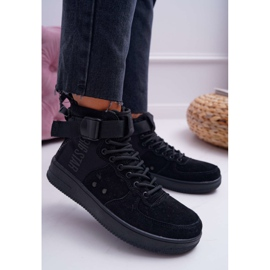 Sneakersy Damskie Trampki Czarne Big Star EE274662 4