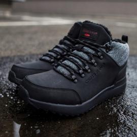 Męskie Buty Trekkingowe Cross Jeans Czarne EE1R4113C 1