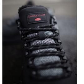 Męskie Buty Trekkingowe Cross Jeans Czarne EE1R4113C 2