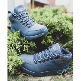 Męskie Buty Trekkingowe Cross Jeans Granatowe EE1R4115C 1