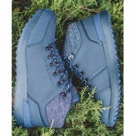 Męskie Buty Trekkingowe Cross Jeans Granatowe EE1R4115C 4