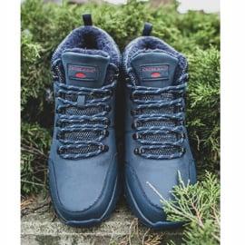 Męskie Buty Trekkingowe Cross Jeans Granatowe EE1R4115C 3