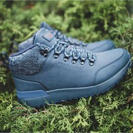 Męskie Buty Trekkingowe Cross Jeans Granatowe EE1R4115C 5