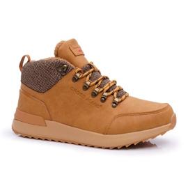 Męskie Buty Trekkingowe Cross Jeans Camel EE1R4114C brązowe 1