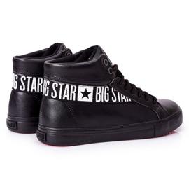 Trampki Męskie Big Star Wysokie Czarne EE174339 3