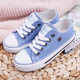 Trampki Dziecięce Big Star Niebieskie FF374203 1